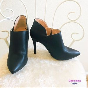 New pointed toe booties